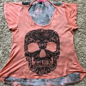 Very Cute Skull Top